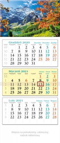 kalendarz Trójdzielne