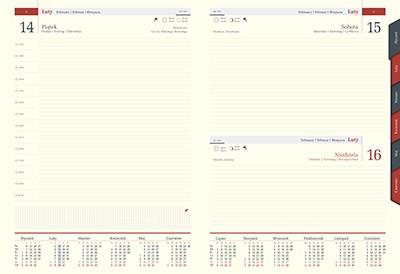 kalendarz Książkowe dzienny