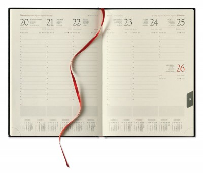 kalendarz Książkowe tygodniowy
